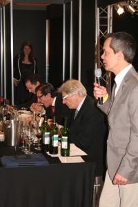 Frank Deuning tijdens Wine Professional