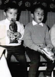Frank en Aart Deuning 1962